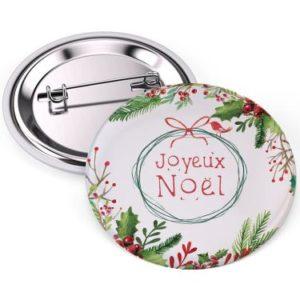 badge Joyeux Noel