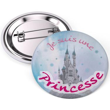 badge je suis une princesse