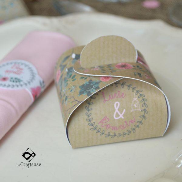 pop up champetre pour cadeau invité du mariage