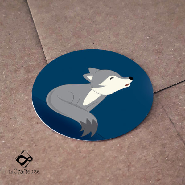 stickers loup