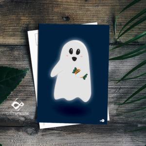 carte postale fantome