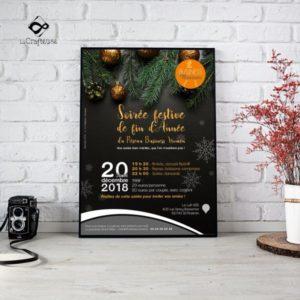 Création d'affiches d'événements dans l'Oise