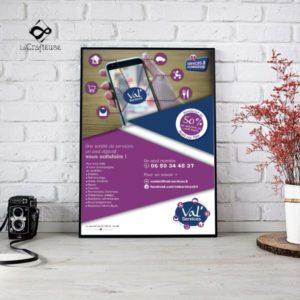Graphiste pour création d'affiche pour les entreprises Beauvais