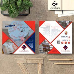 La Crafteuse créé vos flyers à Amiens et Beauvais