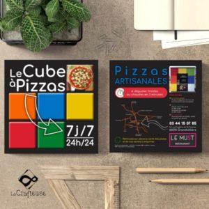 Graphiste pour création de flyer pizzeria