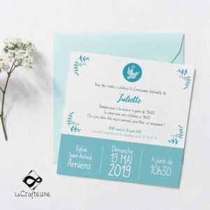 invitation communion vente en ligne