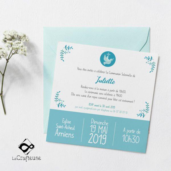 invitation communion vente en ligne