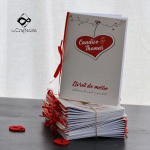 livret de messe format poche pour un mariage