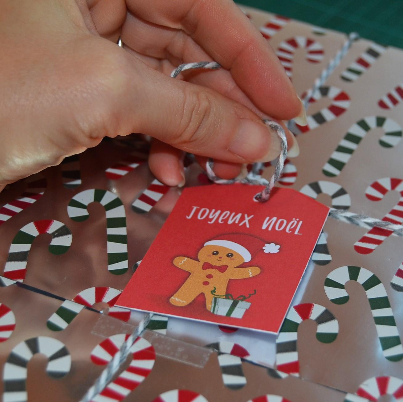 DIY étiquettes cadeaux noël