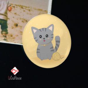magnet chat cadeau mignon artisanat francais