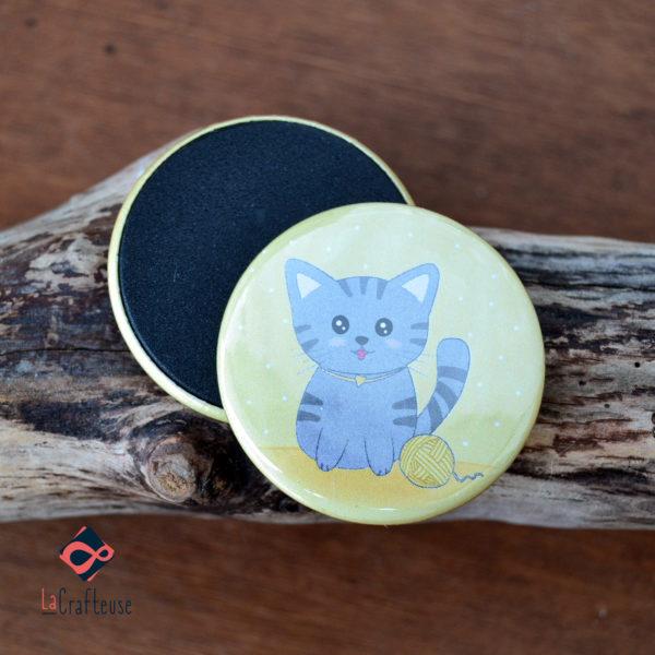 magnet chat artisan beauvais cadeau