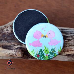 magnet flamand rose artisan amiens cadeau
