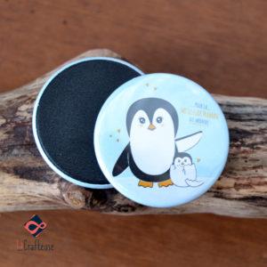 magnet pingouin artisan amiens cadeau