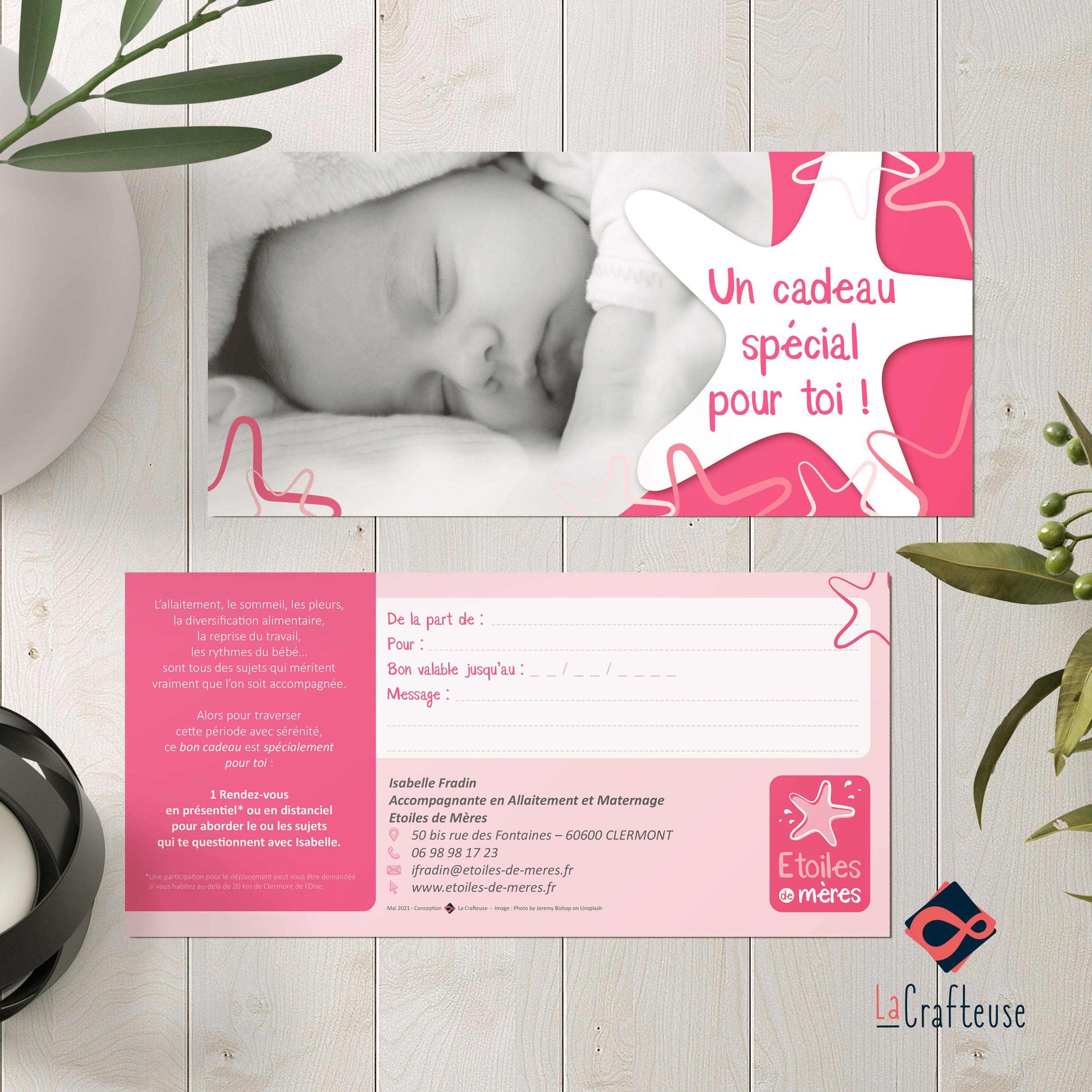 carte cadeau maternité