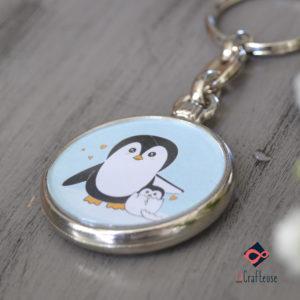 porte cle pingouin cadeau amiens